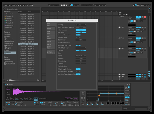 Prpl update Theme for Ableton 10 by rarely