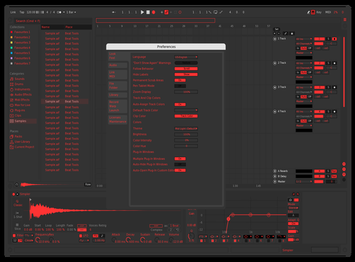 Axou V2 Theme for Ableton 10 by Axnourx