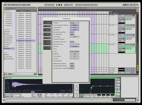 Y335H Theme for Ableton 10 by Patrick Sullivan