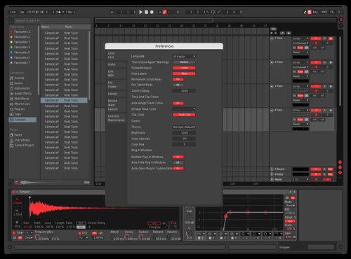 REDRUM V.I Theme for Ableton 10 by Kidsonic_Official