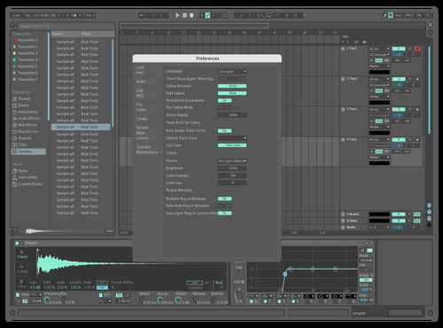 Arctic Night Theme for Ableton 10 by Tommy Solberg