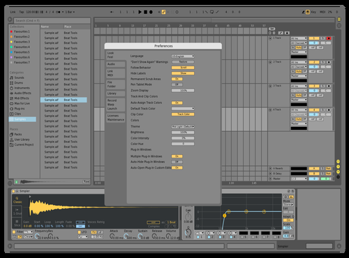 Light 2 Theme for Ableton 10 by mdnine