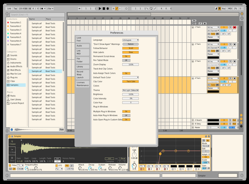 My custom Theme for Ableton 10 by amith
