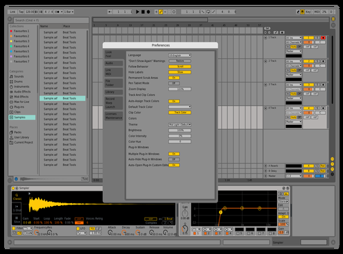 9Plus Theme for Ableton 10 by Acxel