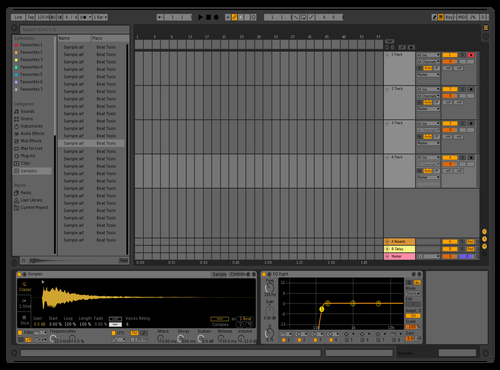 Basik Theme for Ableton 10 by Davey