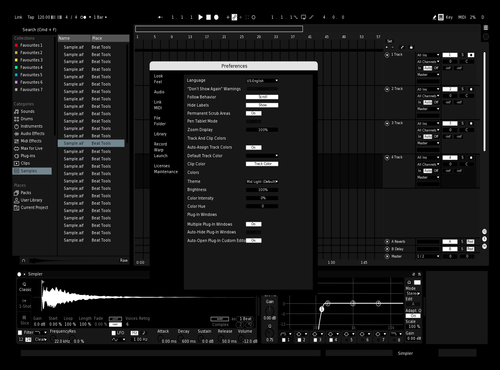 Black and White Theme for Ableton 10 by ggfg
