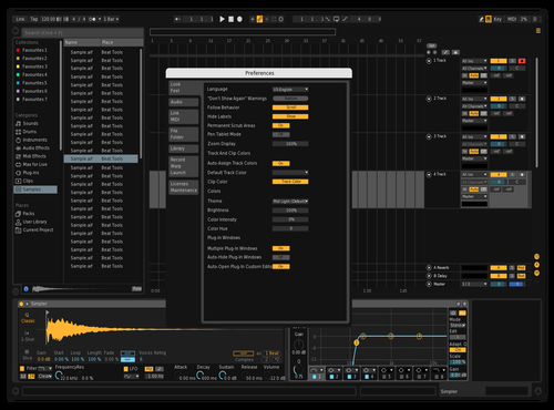 Dark2 Theme for Ableton 10 by Mikhail
