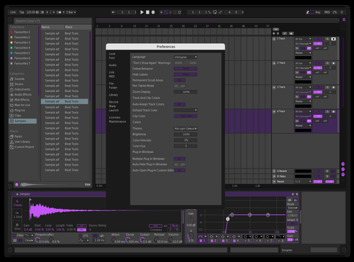 Noodlez v1 Theme for Ableton 10 by anthony