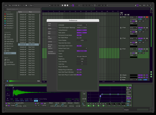 Green Theme for Ableton 10 by Robert K Amidon