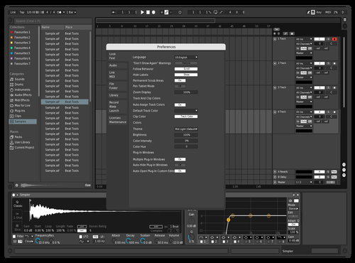 Ehallz Theme Theme for Ableton 10 by Ethan