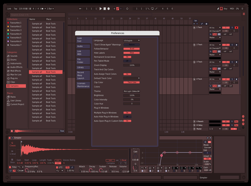 Red as **** Theme for Ableton 10 by Forrest Marigold