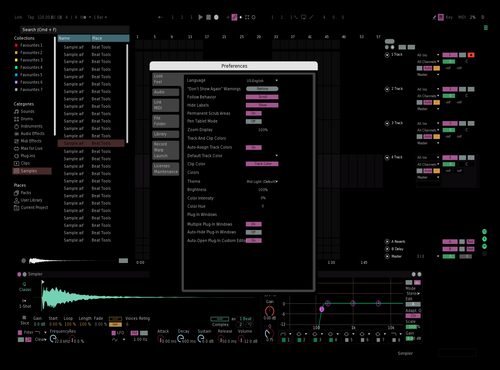 BLKTech Theme for Ableton 10 by Alesio