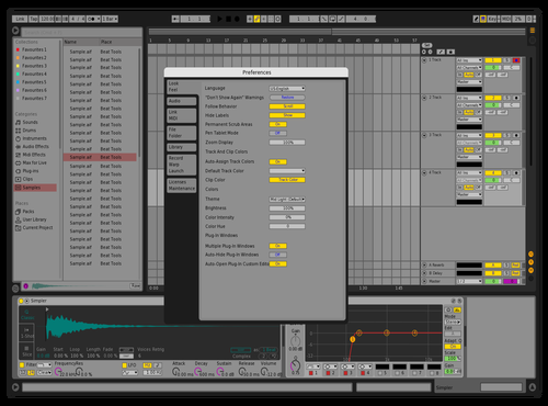 Mentalisme Theme for Ableton 10 by Miky