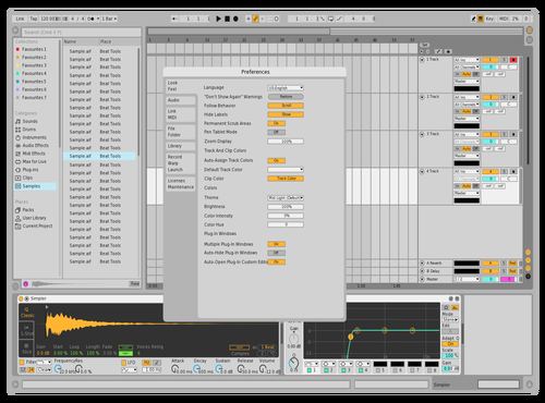Testtest Theme for Ableton 10 by hajdhjlskf