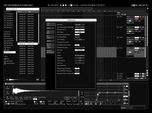 Dark days Theme for Ableton 10 by mehrshad