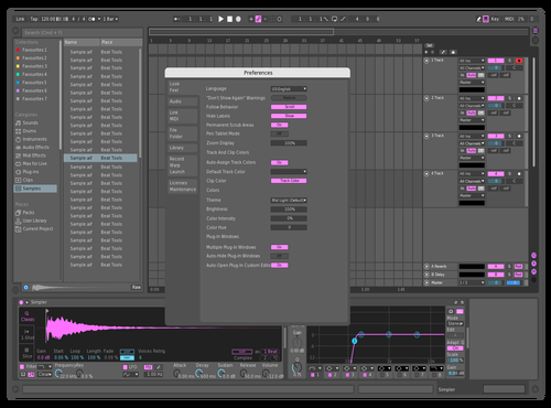 New Theme for Ableton 10 by malone