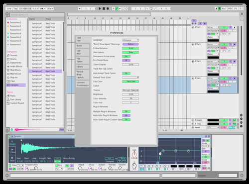 Blanco Theme for Ableton 10 by Esteban