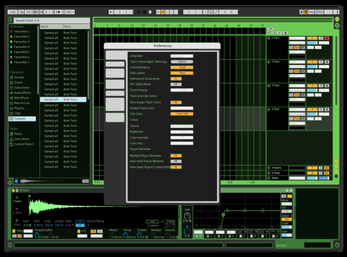 Hackv2 Theme for Ableton 10 by Eddie Farfan