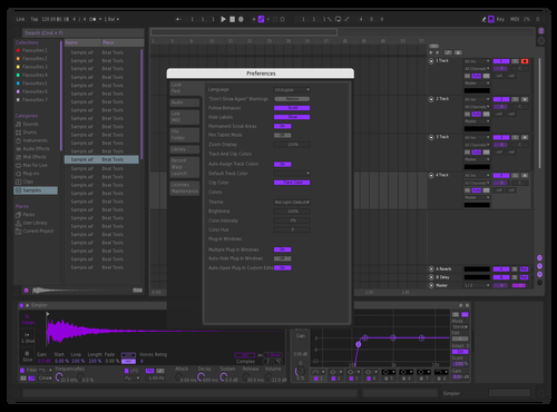 PurpleDrank Theme for Ableton 10 by RL88