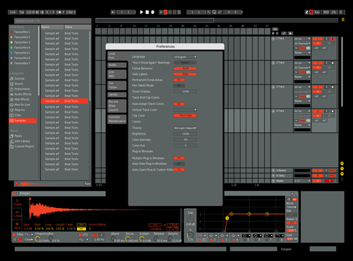 8082 Theme for Ableton 10 by CabezaDeMapo