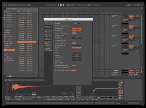 Studio color Theme for Ableton 10 by christopher lombardo