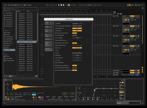Actually Dark Theme for Ableton 10 by ok