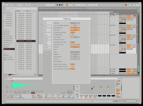 LIGHTEDIT Theme for Ableton 10 by Agrest