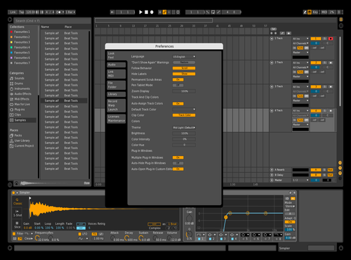 Something Dark Theme for Ableton 10 by dreamstate42
