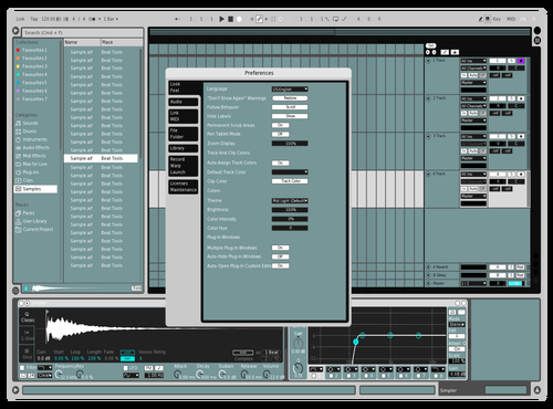 Kristo 5 Theme for Ableton 10 by kristo
