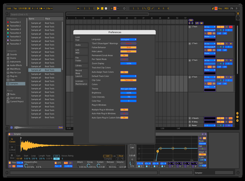T-Control Colors Theme for Ableton 10 by Con