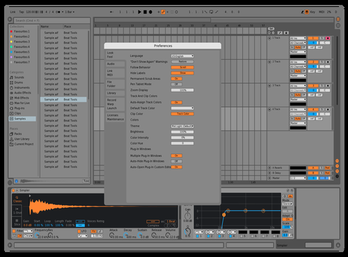Idk Theme for Ableton 10 by Not Reaver alt