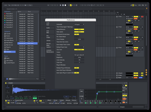 Discord Saturated Theme for Ableton 10 by Chuck Bergeron