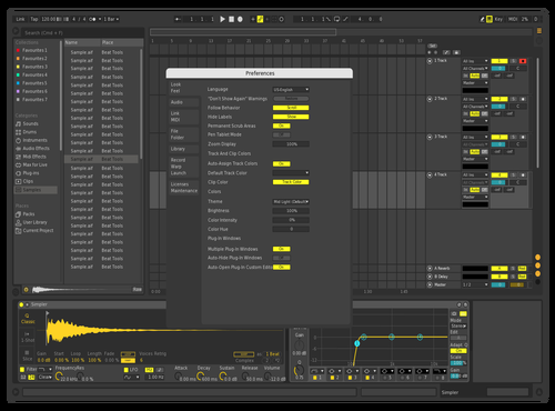 MyProper Theme for Ableton 10 by TR3WR