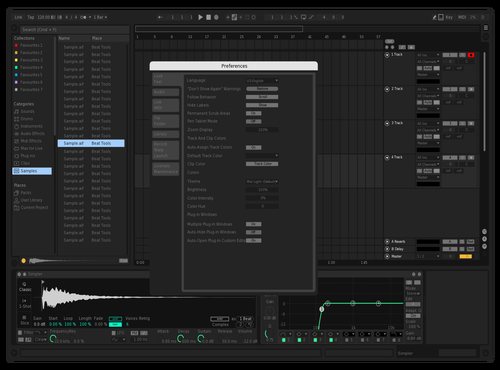 BlackMint1.0 Theme for Ableton 10 by iqthemes