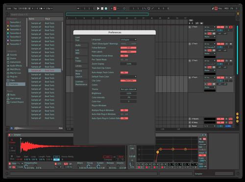 Legoo Theme for Ableton 10 by Yura