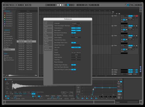 Ablogicue Theme for Ableton 10 by DRstelth