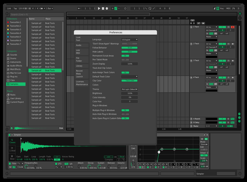 DarkMint Theme for Ableton 10 by jona