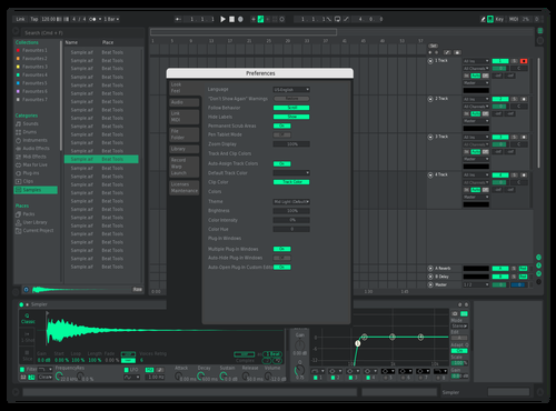 New neon Theme for Ableton 10 by wattup