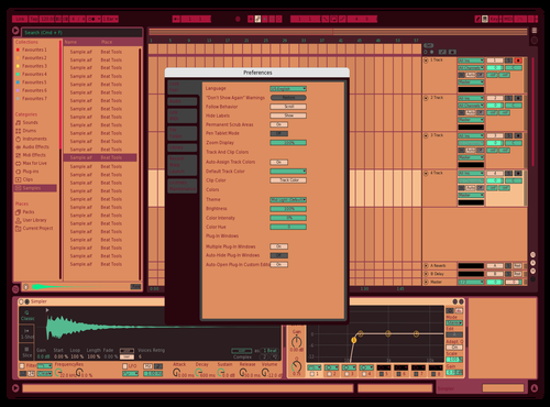 243521435 Theme for Ableton 10 by retrochrome