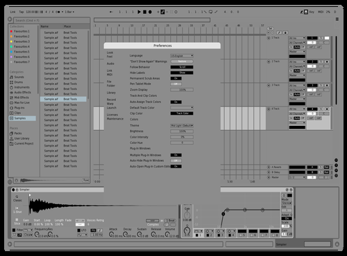 Borderless Tuned Theme for Ableton 10 by david
