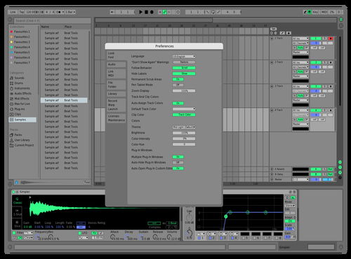NYES Theme for Ableton 10 by Stephan Cacic