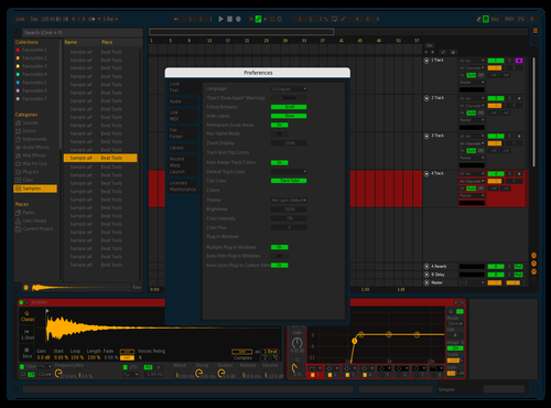 DarkyDark Theme for Ableton 10 by Andreas