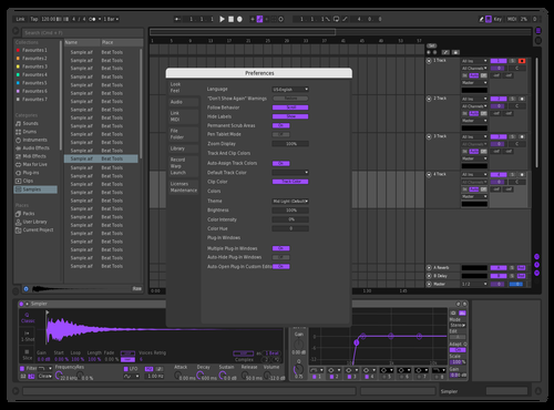 Purple Skin Rik Theme for Ableton 10 by Rick