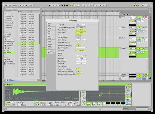Forest Theme for Ableton 10 by Dipu Hoque
