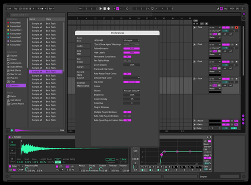 Dalevi Theme Theme for Ableton 10 by dalevi