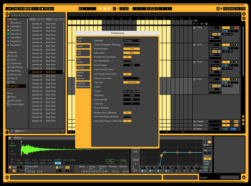KRK Theme for Ableton 10 by kev