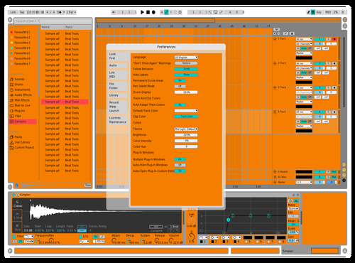 Ncodex - Have a orange Theme for Ableton 10 by ncodex