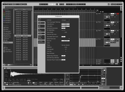 Escaladgris Theme for Ableton 10 by lvcifer