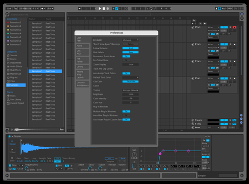 Dark Remix Theme for Ableton 10 by AHmedia