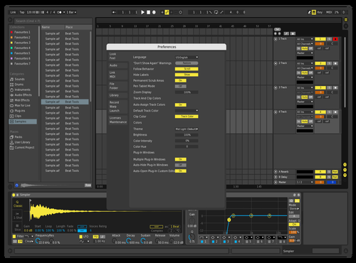 Classic Dark Theme for Ableton 10 by trance-ecj